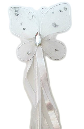 Butterfly Dress-up Wand (White)