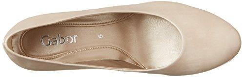 Gabor Shoes Fashion, Zapatos de Tacón para Mujer Beige (sand 72)