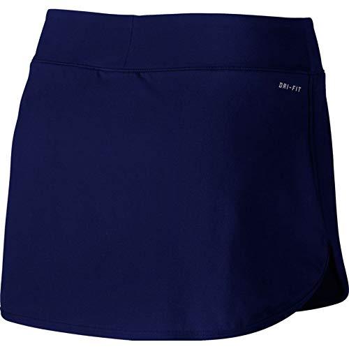 Nike Women's Court Pure Tennis Skirt Blue Void/White Small 2