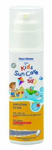 FrezyDerm Children's Sunscreen Lotion - Face & Body SPF50+