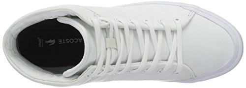 1 Lacoste Blanco Zapatillas Top Wht Weiß Mujer Lancelle 001 316 Hi xICwqXrOIp