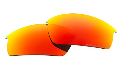 Polarized Replacement Sunglasses Lenses for Oakley Bottle Cap with UV Protection (Fire Red Mirror) by C.D