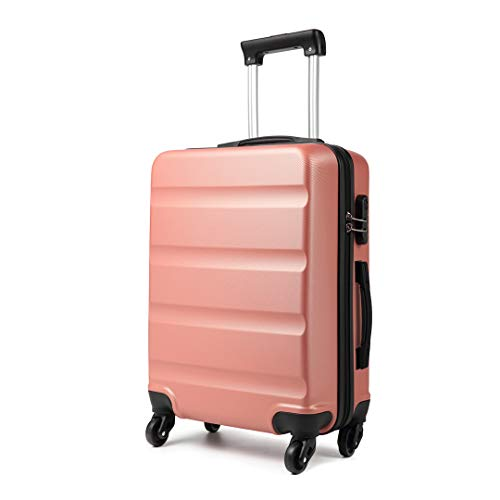 """Kono Large 28"""" Hard Shell Suitcase Lightweight Hand Luggage Travel Trolley Suitcase with 4 Wheels and Dial Combination…"""