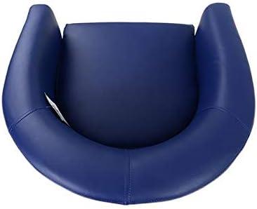 Saves Direct Fauteuil rembourr/é en Cuir PU Bleu