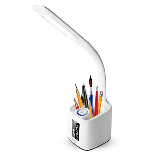 Gerintech LED Desk Lamp with USB Charging Port for Study