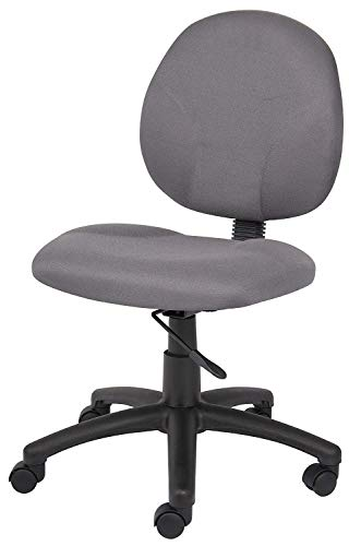 DK Furniture Dimond Task Chair Without Arms in Grey