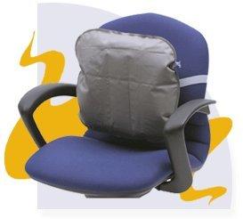 Grey Medic-Air Back Pillo
