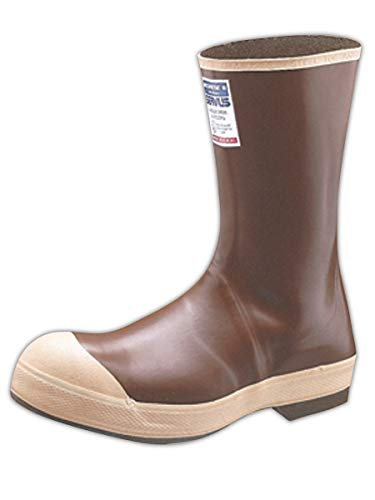 North by Honeywell 22114-CTM-100 Servus 100 Percent Waterproof Neoprene Steel Toed Boot, Capacity, Volume, Neoprene, 10, Brown (Honeywell Safety 22114)