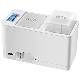 Feirsh Battery Charger Station for Arlo, Dual Rechargeable Batteries Charging Station Compatible for Arlo Pro/Pro 2/Go Camera (Battery Charger Station for Arlo Camera)