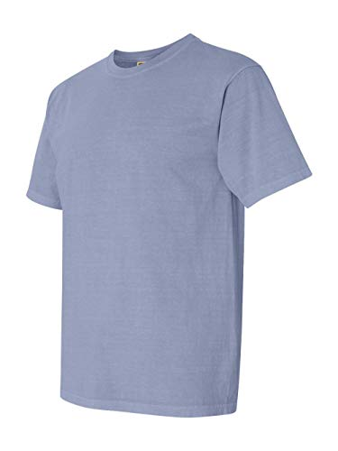 Comfort Colors Men's Adult Short Sleeve Tee, Style 1717, Ice Blue, ()