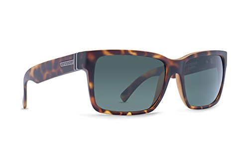 Von Zipper Elmore Demi Tortoise / Vintage Grey Sunglasses - Sunglasses Elmore Zipper Von
