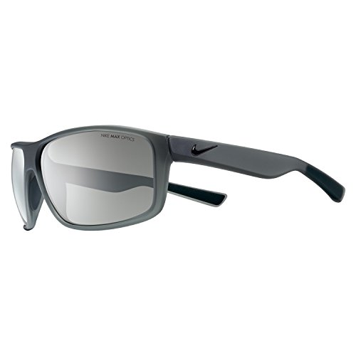 Nike Golf Premier 8.0 Sunglasses, Matte Anthracite/Black Frame, Grey with Silver Flash Lens (Lenses Silver Flash Grey)