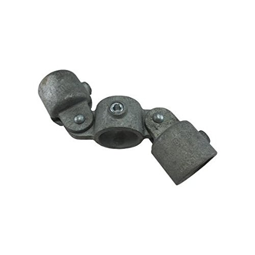 1'' Speed Rail Double Adjustable Cross Fits Pipe O.D. 1-3/8''