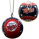 "Minnesota Twins Team 1.5"" Clubhouse Ball Ornament 4 Pack"