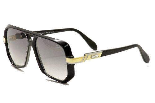 Cazal Sunglasses CZ 627/3 001 Black and gold - Cazal Vintage Sunglasses