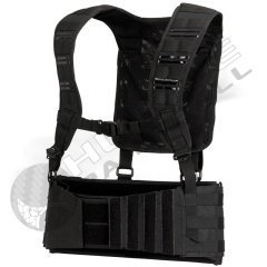 (Dye Paintball Tactical Harness - Black)