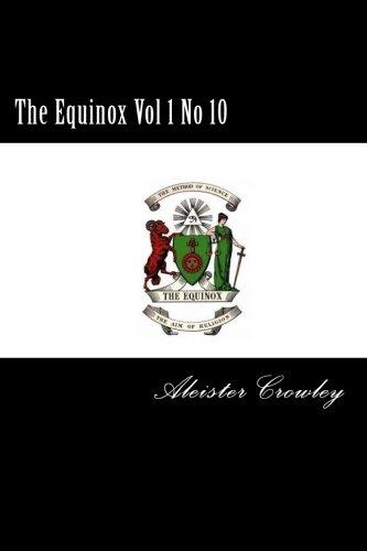 The Equinox Vol 1 No 10 ebook