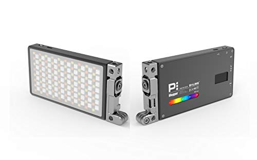 Boling BL-P1 12W RGB Full Color Dimmable 2500-8500K On-Camera Led Video Light with OLED Screen, 360° Support System by Vitopal (Image #9)