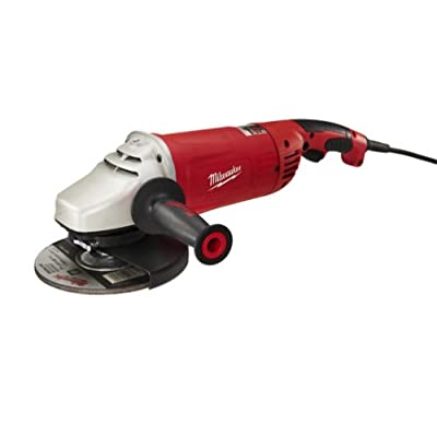 Milwaukee 6088-30 7-Inch/9-Inch Large Angle Grinder with Lock-On