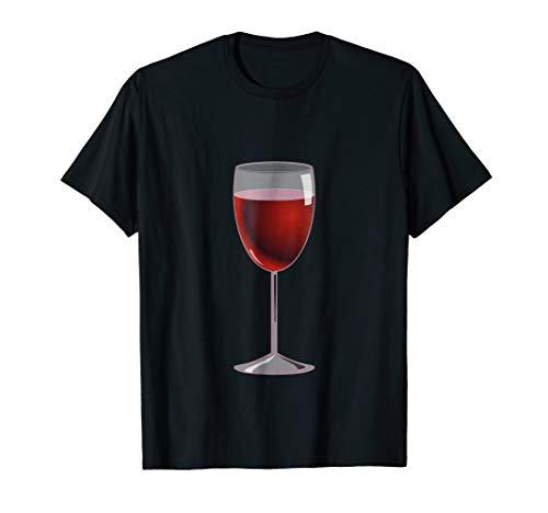 Wine Glass Costume T-Shirt Matching Cheese Wedge Pair Tee]()