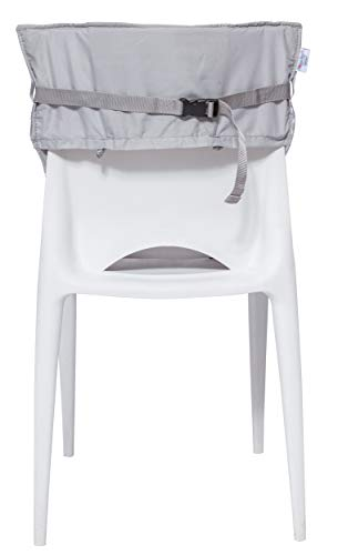 Baby-to-Love Pocket Chair, Portable Feeding Chair Cover Infant & Toddler (White Stars) by BabyToLove (Image #1)