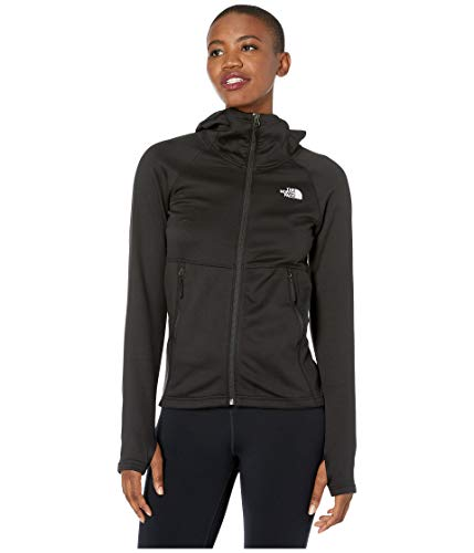 The North Face Women's Canyonlands Hoodie, TNF Black, L (Womens North Face Fleeces)