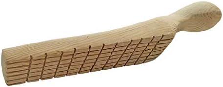chiwanji 木製パドル 溝付き 粘土彫刻ツール 粘土細工道具 粘土彫刻ツール 粘土陶器ツール DIY手作り