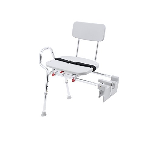Eagle Health Supplies Tub-Mount Swivel Sliding Shower Transfer Bench, No Tool Assembly by Eagle Health Supplies (Image #4)