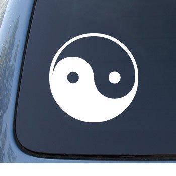 YIN YANG Asian Notebook Sticker