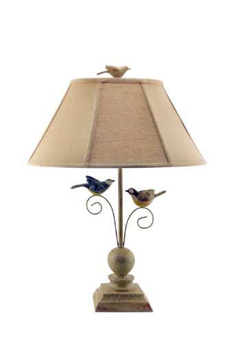 AHS Lighting L1610-U1 Fly Away Together Lamp, 18 x 12 x 23, Beige (Lamp Bird)