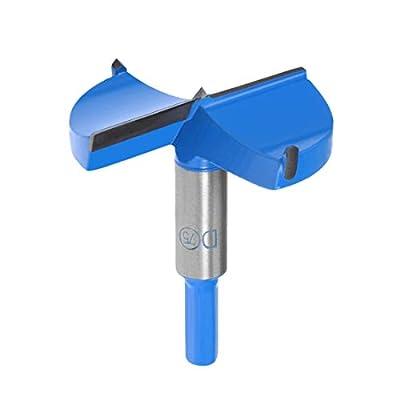 uxcell 75mm Hinge Boring Forstner Drill Bit, 10mm Hex Shank