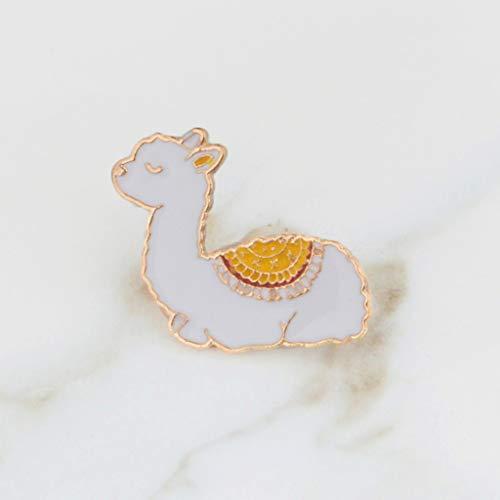 Xeminor Premium Cartoon Llama Enamel Cute Alpaca Styling Badge Brooches Pin for Women Men by Xeminor (Image #5)