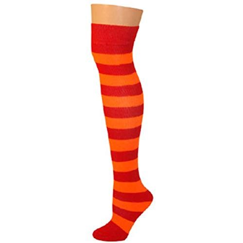 AJs Adult Long Classic Knee High Striped Socks