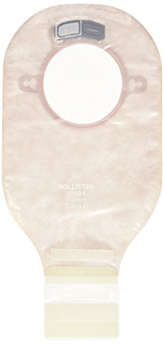 Hollister REL18194 Hollister New Image Drainable Colostomy Pouch, 12 Inch, 10 Count