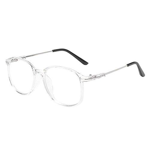 Deylaying Vintage Big Metal Rim Nearsighted Glasses Short Sight Myopia - Vintage Glasses Big