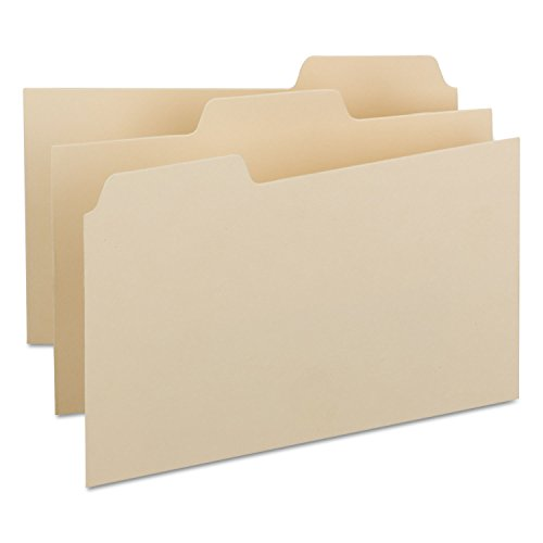 Smead Card Guide, Plain 1/3-Cut Tab (Blank), 8