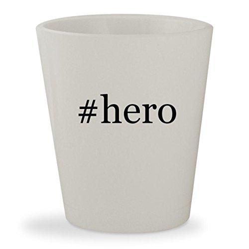 Price comparison product image #hero - White Hashtag Ceramic 1.5oz Shot Glass