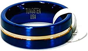 Tungsten ring american size 11 - 2724607088053