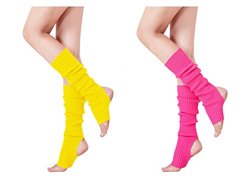 Leg Warmer, V28 Women Ladies Girl Fashion Warm Winter Ribbed Cable Knit Crochet -