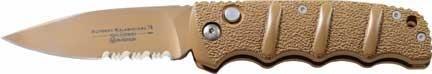 Boker Kalashnikov Button Lock Desert AUS8 Blade Knife, Outdoor Stuffs