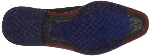 3 11 12641e Negro Bugatti De Zapatos 1000 Cordones Hombre Para Derby schwarz TqBwdwEx