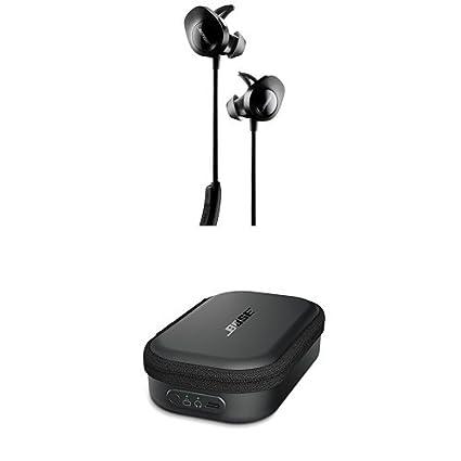 d4f1d567c2a Amazon.com: Bose SoundSport Wireless Headphones, Black + Charging Case:  Home Audio & Theater