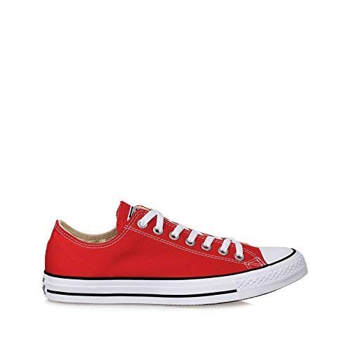 Converse M9696- Low Top Chuck Taylor All Star Red Retro Classic Sneakers, 9 Women/7 Men