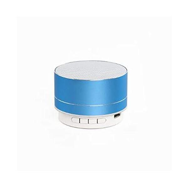 Haut-Parleur Portable Bluetooth étanche Voyage en Plein airHaut-Parleur sans Fil Bluetooth subwoofer de Carte Son d'ordinateur d'ordinateur Rouge 70mmx45mm 5