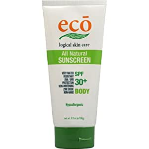 Eco Logical All Natural Sunscreen for Body SPF30+