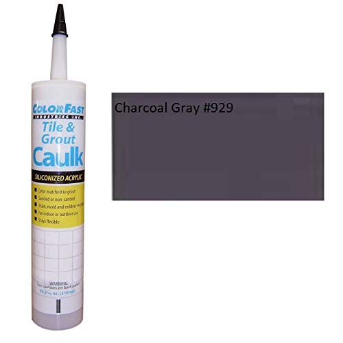TEC Color Matched Caulk by Colorfast (Unsanded) (929 Charcoal Gray)
