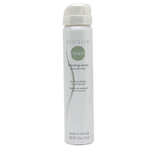 Biosilk Finishing Spray - Biosilk Finishing Natural Hold Hair Spray, 2.6 Ounce