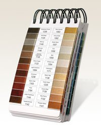 Embroidery Color Chart - Hemingworth Color Card