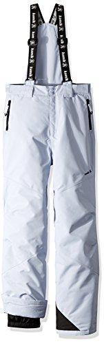 Kamik Winter Apparel Girls Rebel solid Pants, Ice, 6 (Winter Alpine Pants)