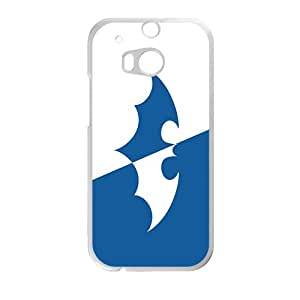 Cool-Benz Fresh blue and white Batman Phone case for Htc one M8